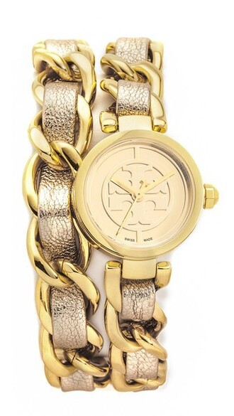 mini watch gold jewels