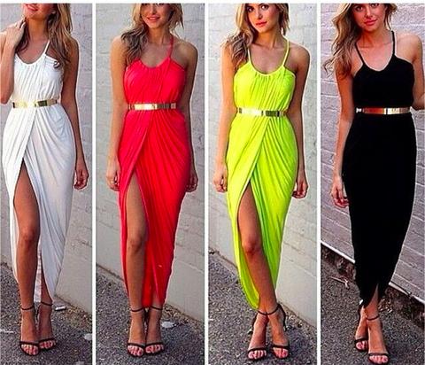 Wrap split dress · summah breeeze · online store powered by storenvy