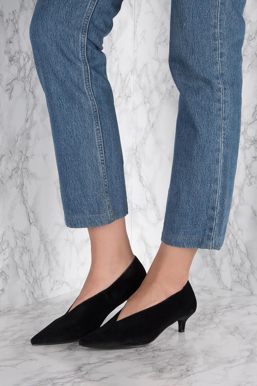 NA-KD Shoes Plunge Kitten Heel