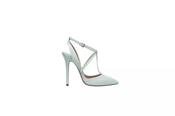 shoes shoes heels wedges mint blue pastel cute high heels