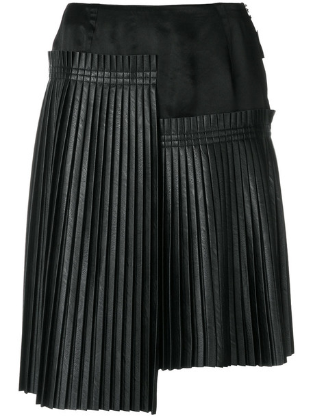 Mm6 Maison Margiela skirt pleated skirt pleated women black