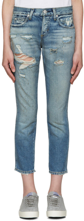 jeans tomboy blue