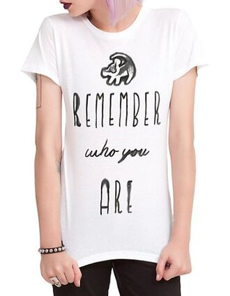 shirt lion son remember who you are white fashion heels galaxy print prom shoes lion king remember t-shirt white t-shirt high heels nike sparkle prom dress new years resolution