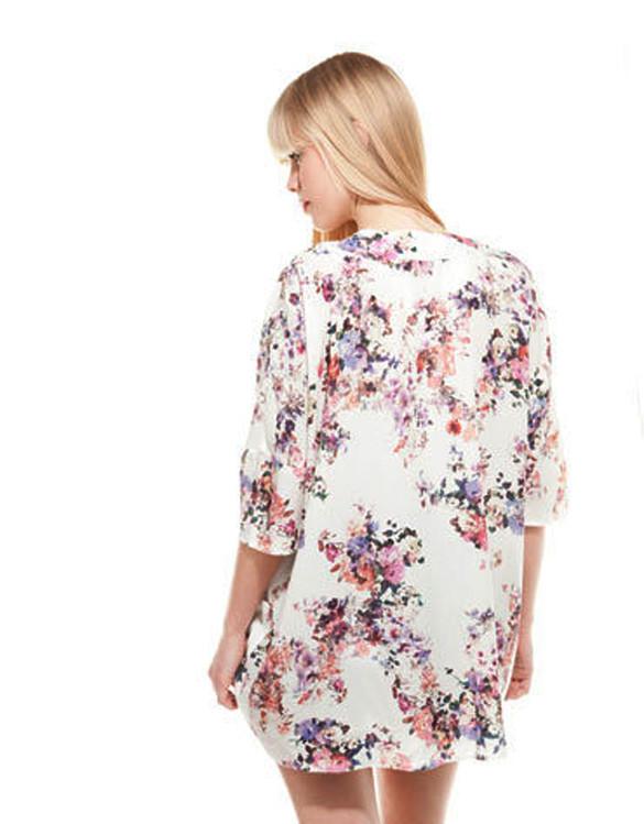 Lavender kimono