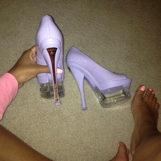 shoes high heels platform high heels purple heels purple women's shoes platform shoes stilettos purple shoes pastel pastel platforms gold versace beautiful heels sexy shoes