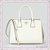 PRADA Saffiano Leather Tote Bag BN2438 White