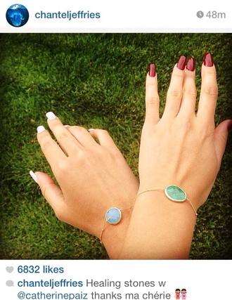 jewels bracelet healing stone