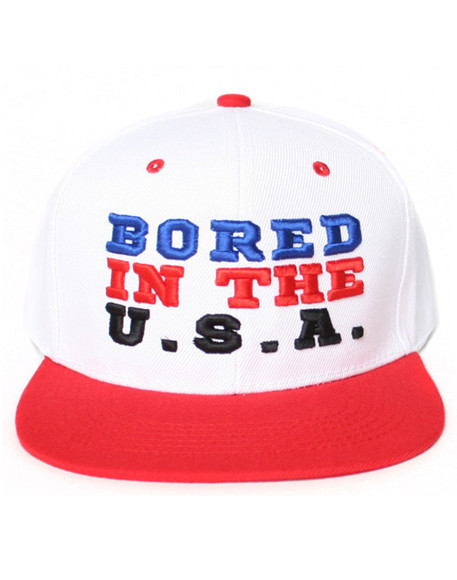 usa hat bored snapback funny funny hat 90s bored in the usa