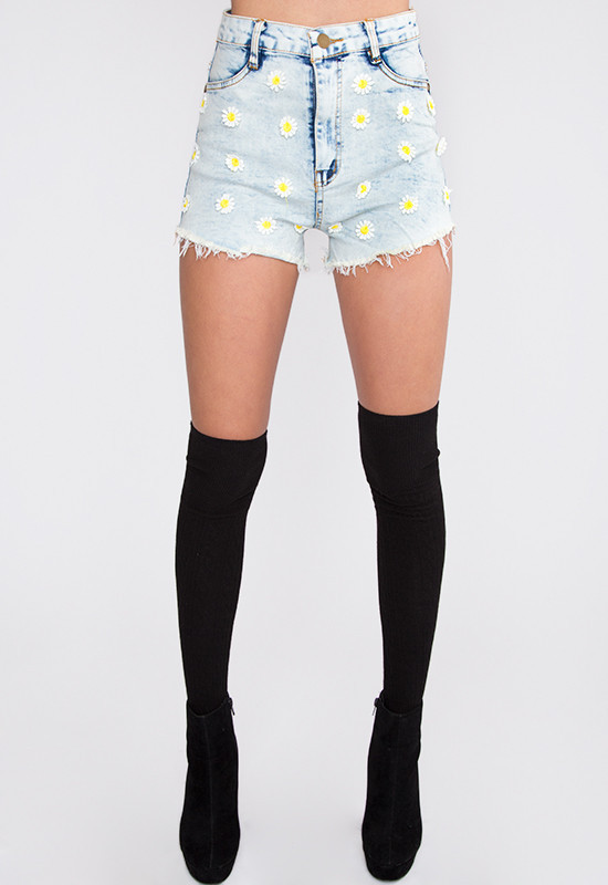 Daisy Mae High Waisted Shorts