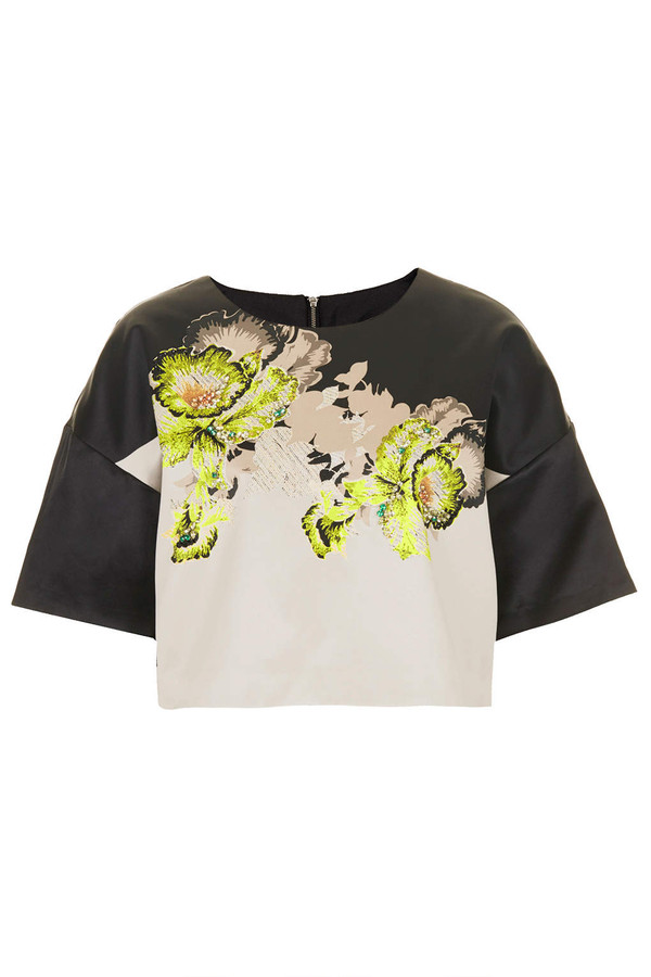 t-shirt orchid satin tee t-shirt orchid satin floral