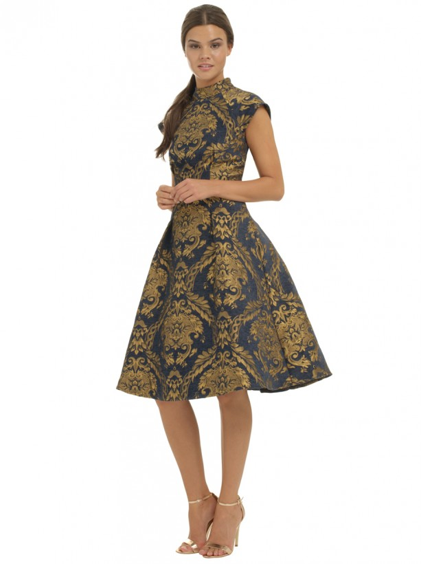 Chi Leila Dress