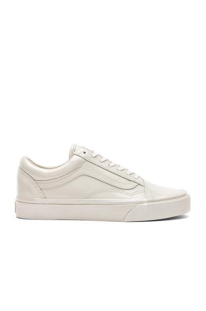 VANS metallic shoes