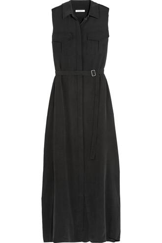 dress maxi dress maxi silk black