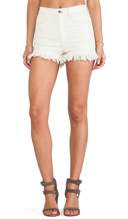 Wildfox Couture Helena Deadstock Cut Off Short in Vintage Lace from REVOLVEclothing.com