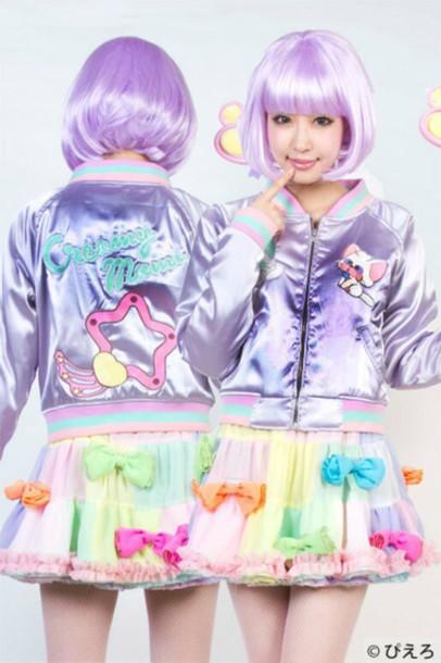 jacket kawaii dope pastel style