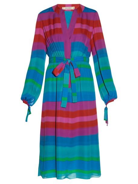 ETRO shirtdress silk dress