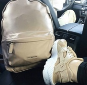 bag,givenchy,givenchy bag,nude,tan,backpack,shoes,nike,nike shoes,go to school,beige,marron,brown,school bag