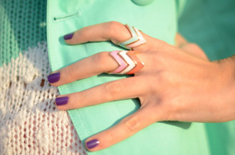 jewels ring geometric