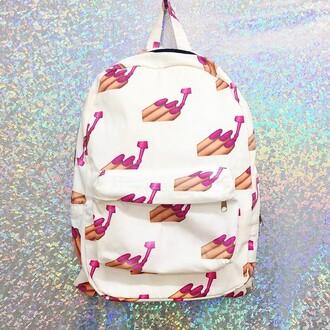 bag emoji backpack