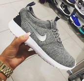 sneakers,shoes,nike shoes trainers,grey sneakers,nike,white,grey,black,grey nike shoes,running shoes,nike running shoes,trainers,nike shoes,nike sneakers,nike roshe run,nike juvenate,black shoes,grey shoes,tech fleece,woman's shoes,sport shoes,name?,low top sneakers
