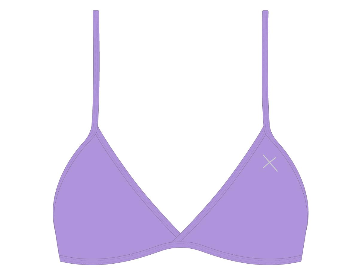 Lilac Fitted Top II