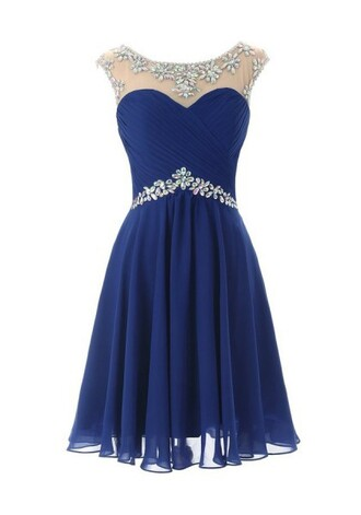 dress homecoming dress short homecoming dress homecoming dress chiffon homecoming dress beads blue homecoming dresses royal blue homecoming dresses