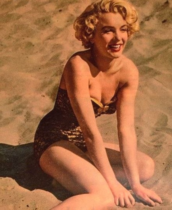 swimwear marilyn monroe beach swimwear