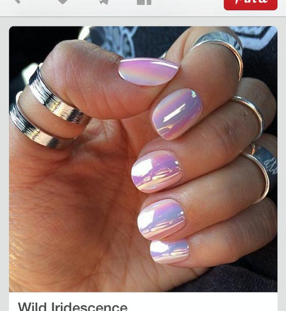 nail polish, holographic - Wheretoget