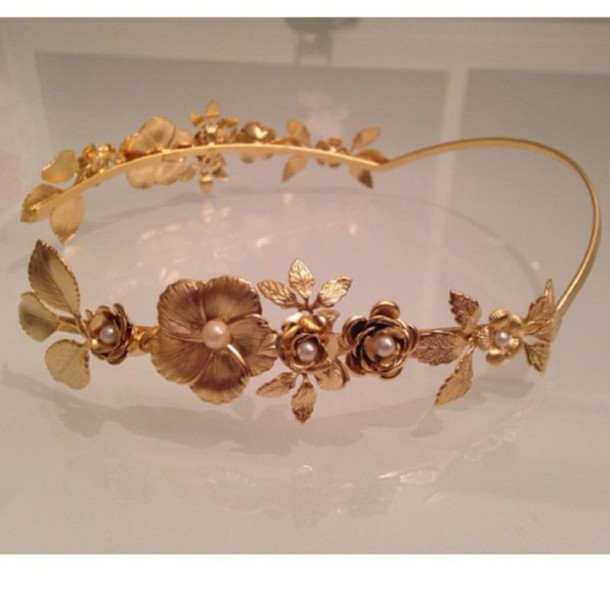 hair accessory headband hair accessory gold leaves wedding accessories wedding hairstyles