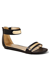 ZIP BACK METAL BAR SANDAL | Express