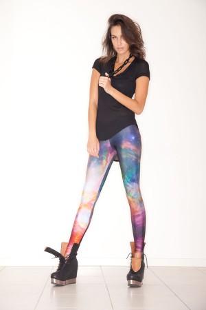 Galaxy rainbow leggings