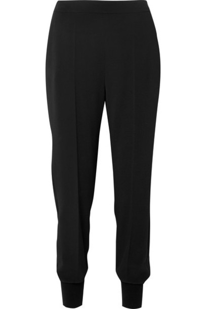 Stella McCartney pants track pants black