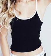shirt,black and white,top,tank top,mylifeaseva,instagram,sweatpants,pants