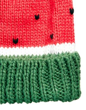 Asos watermelon beanie at asos