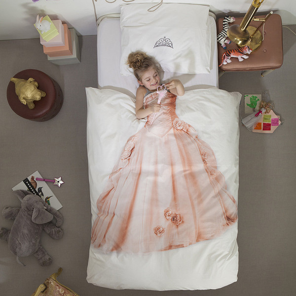 Princess Duvet Cover & Pillow Case Bedding Set - Now Available in Twin – Little Circus