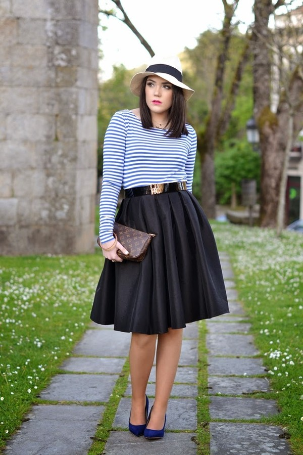 si las calles hablasen hat skirt bag jewels belt t-shirt shoes