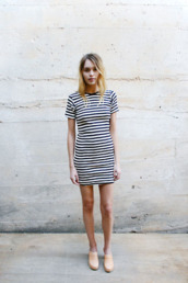 dress,stripes,striped dress
