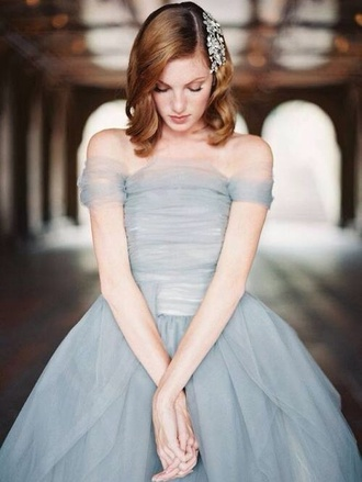 light blue pastel prom prom dress retro pll ice ball blue dress