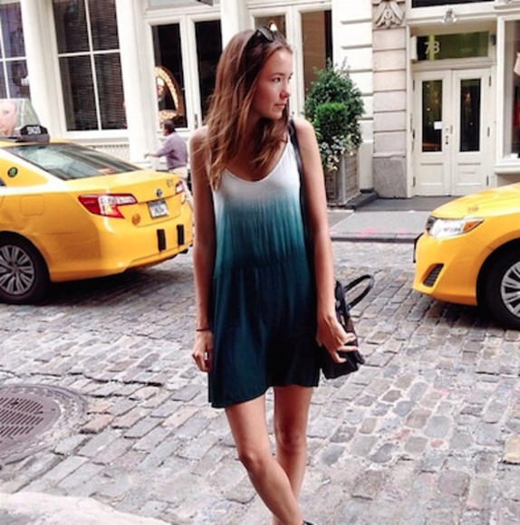 dress tie dye tie dye dress womens dress girl dress