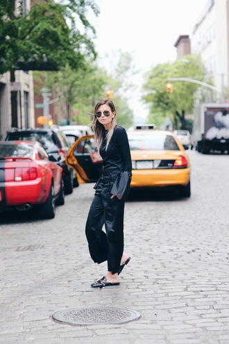 we wore what blogger top jumpsuit