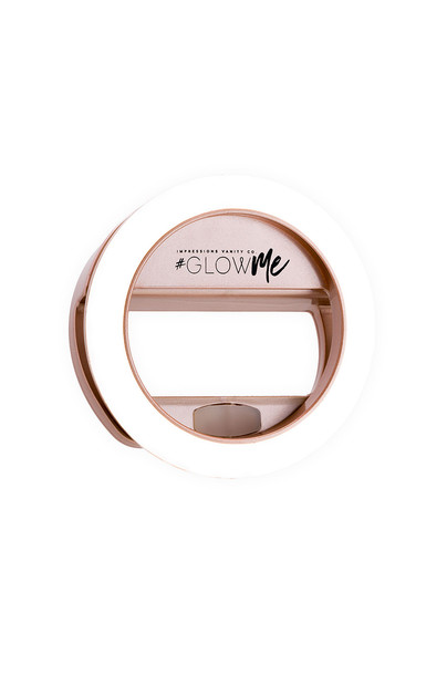 Impressions Vanity light selfie ring metallic copper jewels