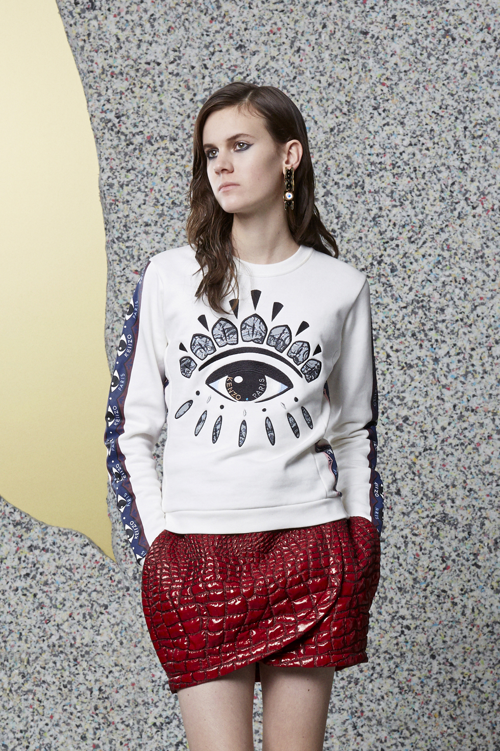 Sweatshirt Eye  Kenzo - Sweat-shirts & Pulls Kenzo Femme - E-Shop Kenzo | Kenzo.com