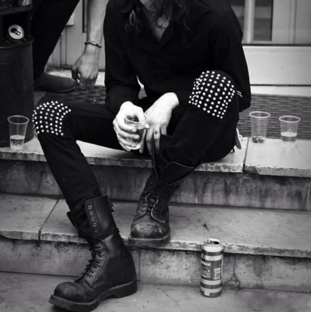 Jeans Korean Fashion Black Kpop Boy Swag Wheretoget
