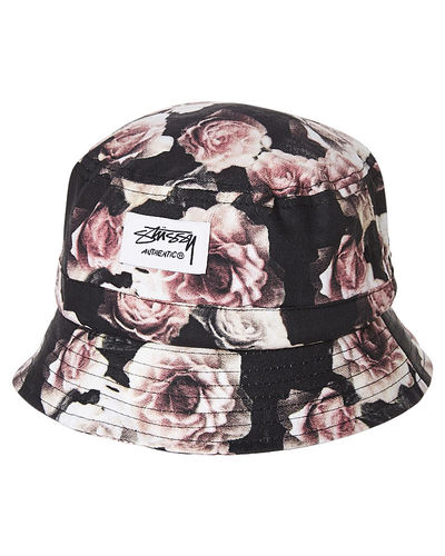 STUSSY OUTSIDE BUCKET HAT - ROSE