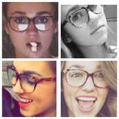 sunglasses,glasses,big glasses,nerd,nerdy glasses,nerd glasses,sadie,duck dynasty style,brown,brown print,brown glasses,cute,finals week,study,style,stylish,dimples,smile,sweet,love,happy,happy happy happy,sadie robertson,duck dynasty