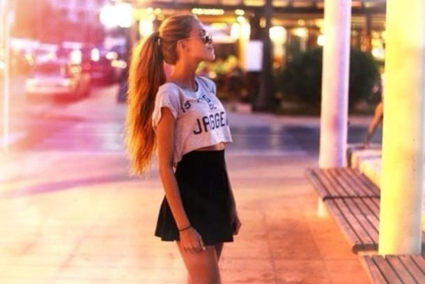 skirt beautiful high waist black summer