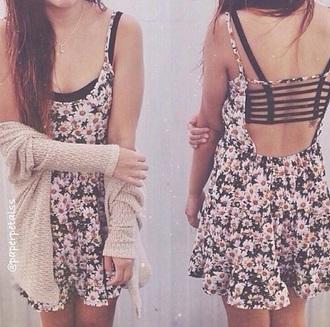 dress daisy summer girl girly style daisy dress outfit fashion