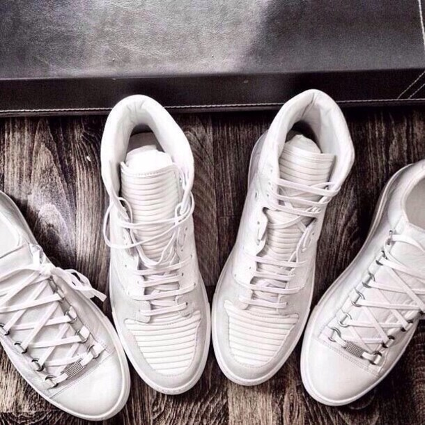 shoes balenciaga for girls white sneakers