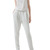 White Mesh Sheer Open Back Tank Evening Jumpsuit
