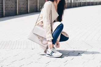 lolita mas blogger shoes jeans bag coat sunglasses top